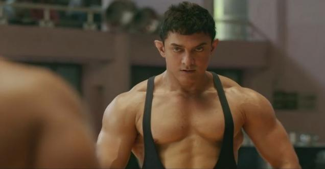 wow watch the full video of aamir khans body