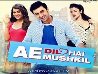 teaser of his upcoming movie Ae Dil Hai Mushkil starring Ranbir Kapoor