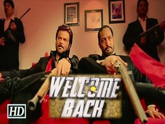 welcome back review by pravin pathak