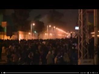 Protesters attack presidential palace in Cairo
