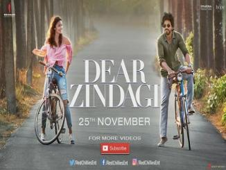 Dear Zindagi- Shah Rukh Khan role only for 10 minutes