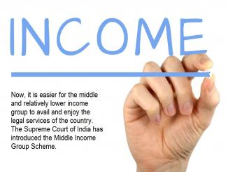 Middle Income Group Scheme, legal services File Petition for Poor