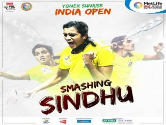 P V Sindhu wins India Open final 2017, Carolina Marin:21-19, 21-16