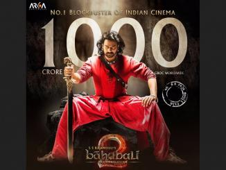 Baahubali 2 the first movie to collect Rs 1,000 Crore