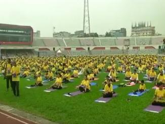 Yoga Day: Yoga Day Celebrated All over the World including India