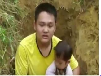 Chinese father digs ill daughter's grave to prepare for her death
