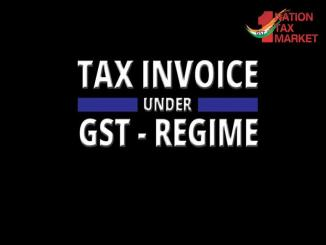 One Nation one Tax Market: Tax under GST regime, Tax invoice questions