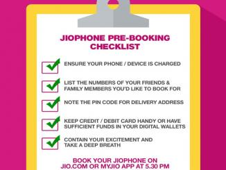 Before booking a JIO phone, know how to get back 1,500 security money back