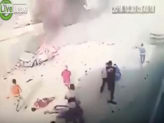 Video: CCTV Caught Stage Fake Attack in Iraq - False Flag?