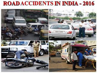 ROAD ACCIDENTS IN INDIA – 2016, complete report analysis