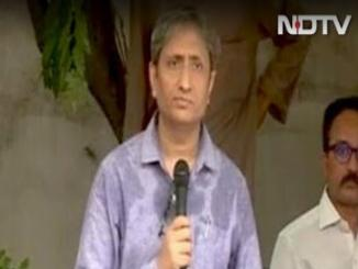 MR Ravish, PM is not a journalist, you can't ask him whom to follow