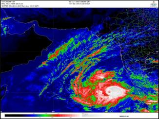 Severe Cyclonic Storm OCKHI, Lakshadweep- RED, 1-12-2017 – 1430 HRS