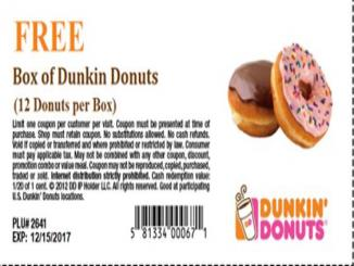 Fact Check: Dunkin Donuts coupon scam
