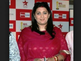 Will Smriti Irani will be next BJP's CM of Gujarat?