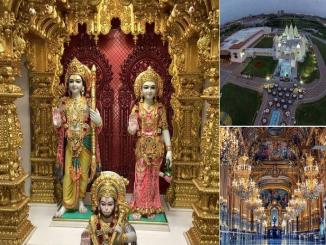 Beautiful Pictures Of Abudhabi's 1st temple, opening by PM Narendra Modi