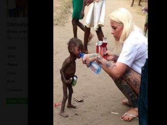 Factcheck: did Anja Ringgren Loven adopt the Nigerian witch child