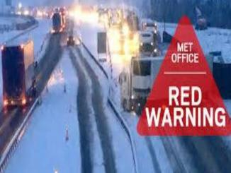 Hoax red weather alerts UK