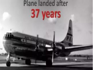 RIDDLE FLIGHT 914, PLANE DISAPPEARED IN 1955, LANDED AFTER 37 YRS