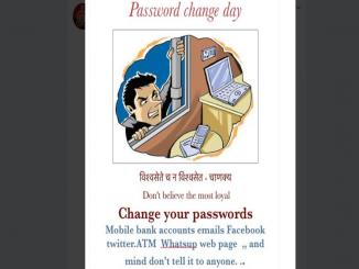 Why changing Password in important, Password Change day April 1