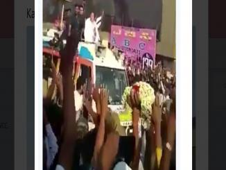 Karnataka has got talent, Viral Rahul Gandhi Video garland lands on neck