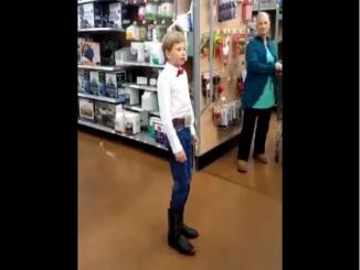 Teen video yodeling in supermarket viral and sparked a trend