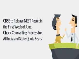 CBSE to Release NEET Result in the First Week of June 2018