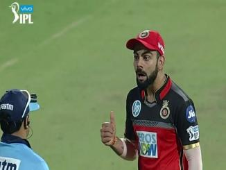 Virat Kohli Reaction after Third Umpire Decision out or not out?