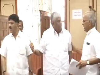 Did DK Shivkumar Congress, Revanna JDS fight after BSY resigned?