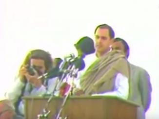 Did Rajiv Gandhi justified 1984 genocide of Sikhs by Congress