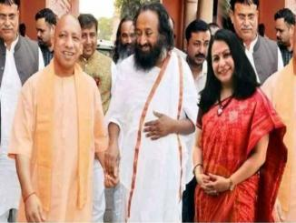 Fake Check: Ravishankar and Yogi Adityanath viral on social media