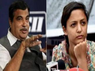 Was Shehla Rashid booked, 153A, 295 and 295A by Nitin Gadkari