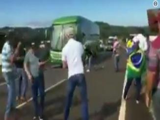 Did Brazil Fans Welcome Players By Throwing Stones At Team Bus