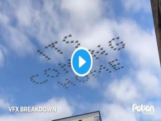 Did anyone else see RAF flyby in London It's Coming Home is fake