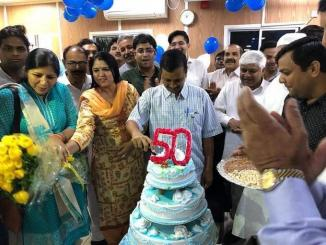 Did Arvind Kejriwal celebrate his 50 birthday after Atal Bihari Vajpayee's demise