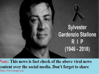 Facts Check: Had Sylvester Stallone passed away from prostate cancer?