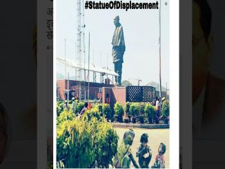 Superimposed image of Sardar Patel statue is viral on Social Media