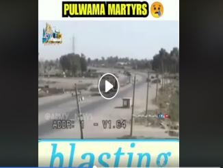 CCTV Footage Of Pulwama Terror Attack is from BAGHDAD not J&K