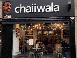Abhinandan chaiiwala signboard from London is not real