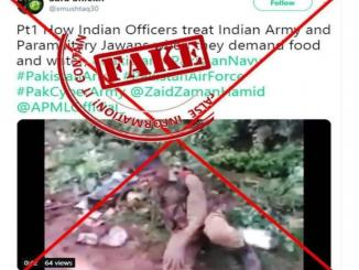 How Indian Officers treat Indian Army and Paramilitary Jawans fake news viral
