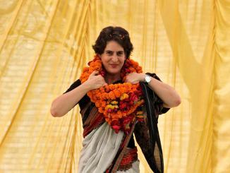 Priyanka Gandhi in different religious attire, it's all Photoshop's rigging