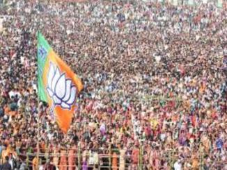 Is BJP fighting for a full majority?