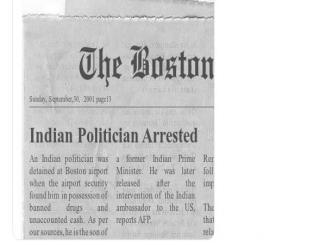 Indian Politician Arrested, Paresh Rawal falls on a fake news article