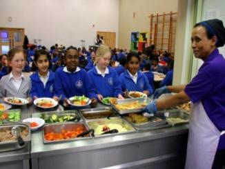 Did Muslim parents demand abolition of pork in school canteens, Perth suburb