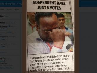 Nine members in family, gets just five votes, Neetu Shutteran Wala