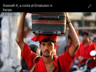 Meet Sreenath K, a coolie who cleared Kerala Civil Services exam