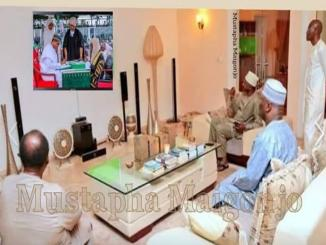 Atiku watched Buhari's Inauguration as Nigerian president