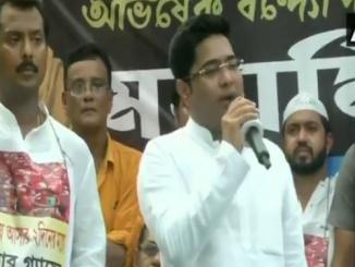 Mamata Banerjee's nephew Abhishek Banerjee who was slapped during a rally