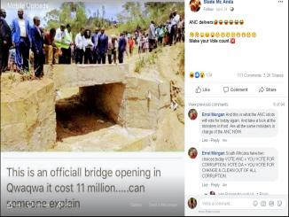 Qwaqwa bridge news, Bridge from Kenya shared as south Africa