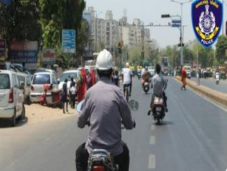 Is helmet wearing not compulsory in Gujarat?