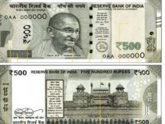 Fact Check on Rs 500 note